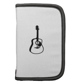 outlined guitar graphic black organizers