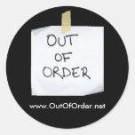 OutOfOrder.net sticker