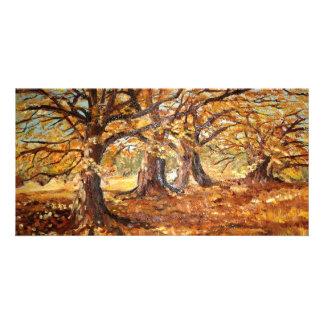 Outono (vendido) customized photo card