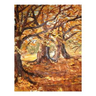 Outono (vendido) tarjetón