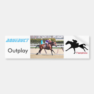 Outplay Bumper Sticker
