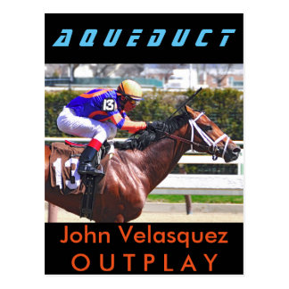 Outplay & Velasquez Postcard