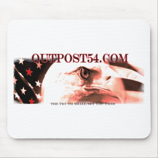 OUTPOST54.COM MOUSE PAD