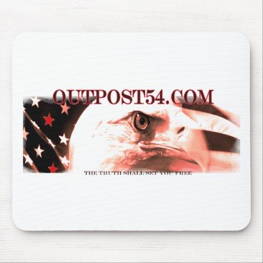 OUTPOST54.COM MOUSEPAD