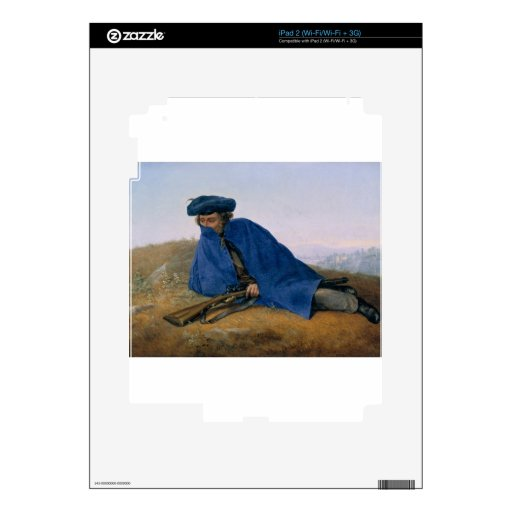 Outpost Duty By Georg Friedrich Kersting Decals For iPad 2