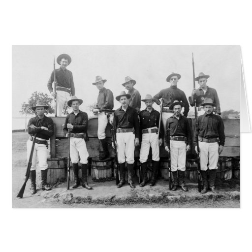 Outpost Guards, Cavite, Philippines, 1899 Greeting Card