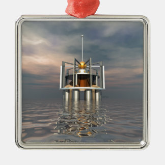 Outpost Metal Ornament
