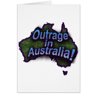Outrage in Australia! Card