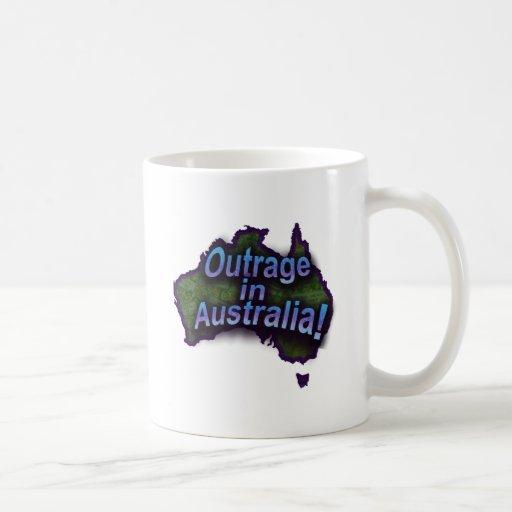Outrage in Australia! Classic White Coffee Mug
