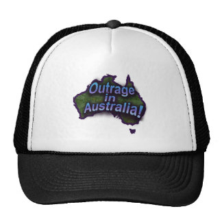 Outrage in Australia! Mesh Hats