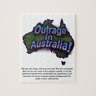 Outrage in Australia! Jigsaw Puzzle