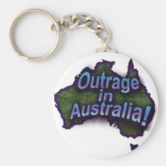 Outrage in Australia! Key Chain