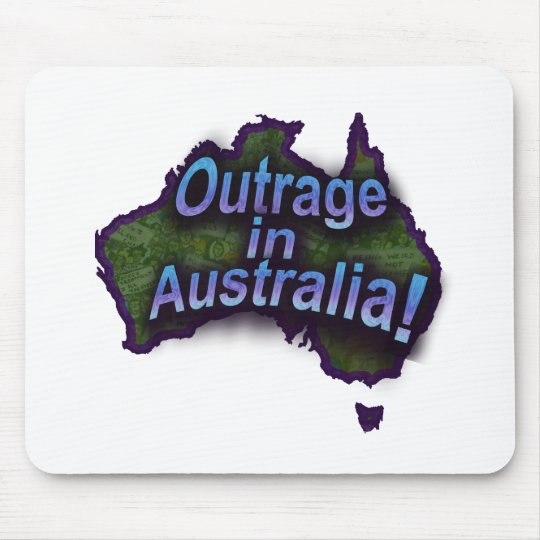 Outrage in Australia! Mouse Pad