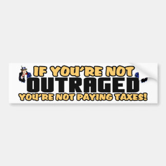 Outraged Bumper Stickers
