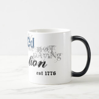 Outraged Mud blue detail If you're not outraged Magic Mug