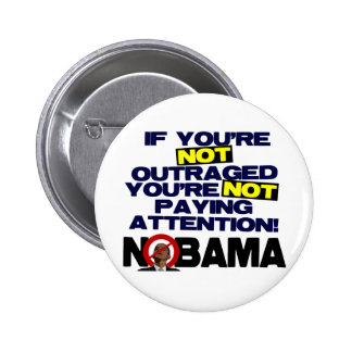 Outraged? Pinback Button