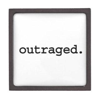 outraged. premium trinket box