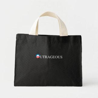 OUTRAGEOUS CANVAS BAG