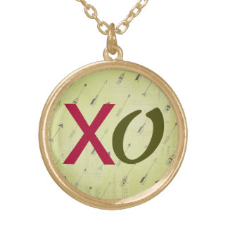 Outrageous Love XO Necklace