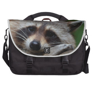 Outrageously Cute Baby Raccoon Laptop Commuter Bag