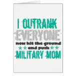Outrank Greeting Card