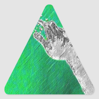 Outreach Triangle Sticker