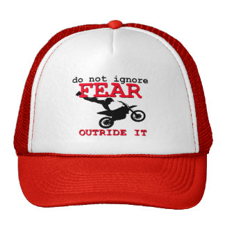 Outride Fear Dirt Bike Motocross Cap Hat