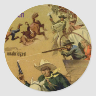 Outriders Classic Round Sticker