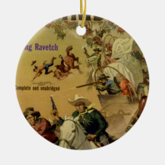 Outriders Double-Sided Ceramic Round Christmas Ornament