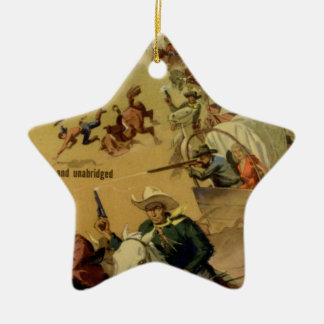 Outriders Double-Sided Star Ceramic Christmas Ornament