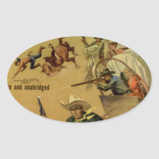 Outriders Oval Sticker
