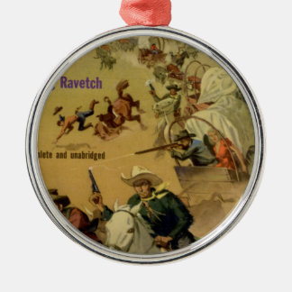 Outriders Round Metal Christmas Ornament