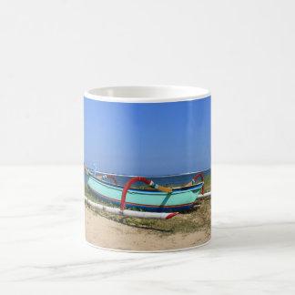 Outrigger boat coffee mug