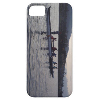Outrigger canoe paddling in Hawaii iPhone SE/5/5s Case