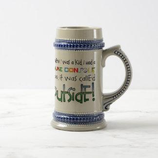"""""""Outside"""" Beer Mug"""