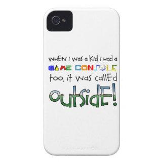 """Outside"" Blackberry Case"