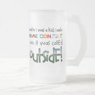 """Outside"" Frosted Beer Mug"