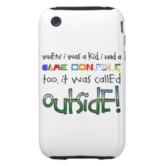 """""""Outside"""" iPhone 3 Case"""