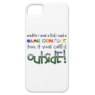 """Outside"" iPhone SE/5/5s Case"