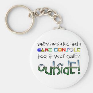 """Outside"" Keychain"