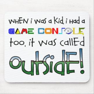 """""""Outside"""" Mouse Pad"""
