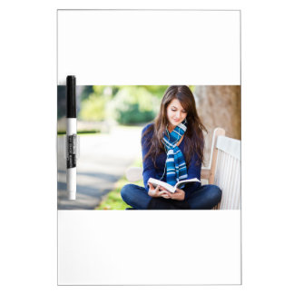 Outside Reading With Music Dry-Erase Board