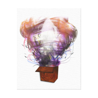 Outside the Box - Inverted Canvas Print