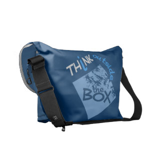 OUTSIDE THE BOX messenger bag
