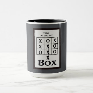 Outside the box -- Mug
