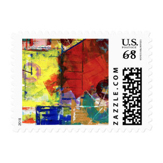 Outside the Box Postage Stamp