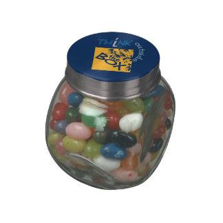 OUTSIDE THE BOX tins & jars Glass Candy Jars