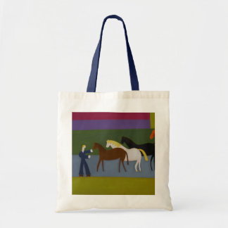 Outside the Great Western Studios at the Height Budget Tote Bag