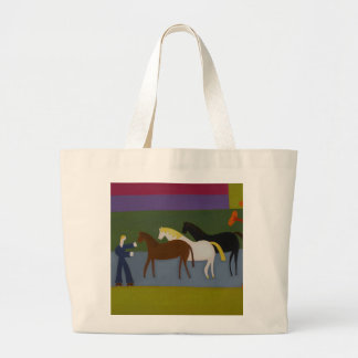 Outside the Great Western Studios at the Height Jumbo Tote Bag