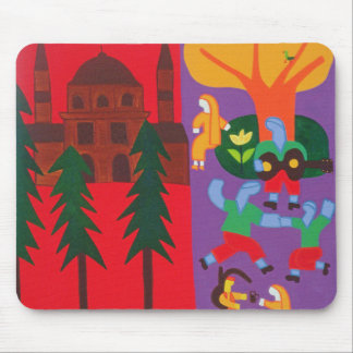 Outside the Mosque 2003 Mouse Pad